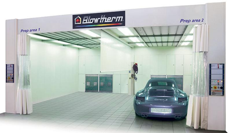 Spray Booths Paint Booths Eurotech Distributors Inc